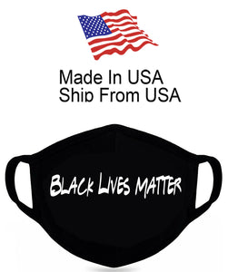 Black Lives Matter Cotton Face Mask