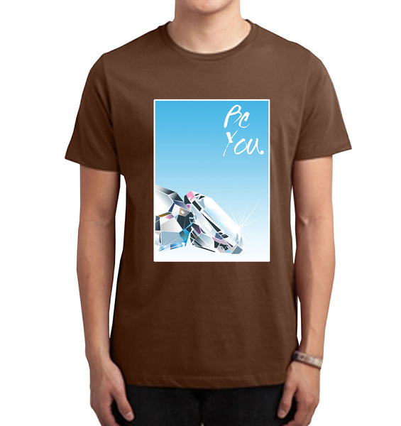 Be You Digital Print T-Shirt