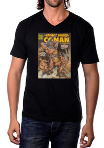 Conan Digital Print T-Shirt