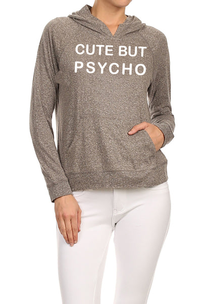 Cute But Psycho Women's Hoodie