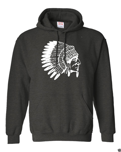 Native Skull Tribe Fleece Hoodie