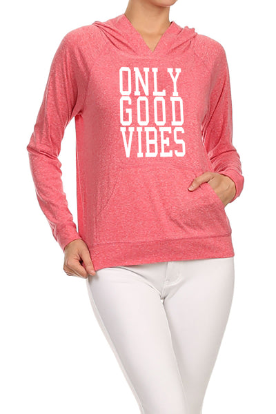 Only Good Vibes Women's Hoodie