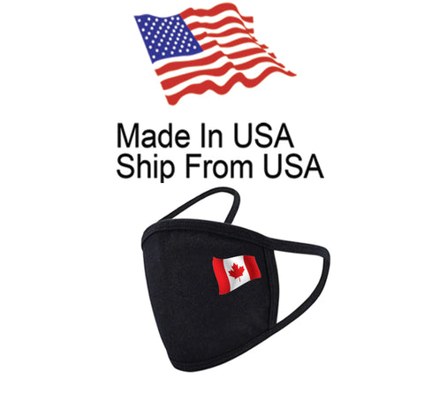 Flag of Canada Cotton Face Mask
