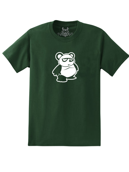 Cute Panda Graphic Print T-Shirt