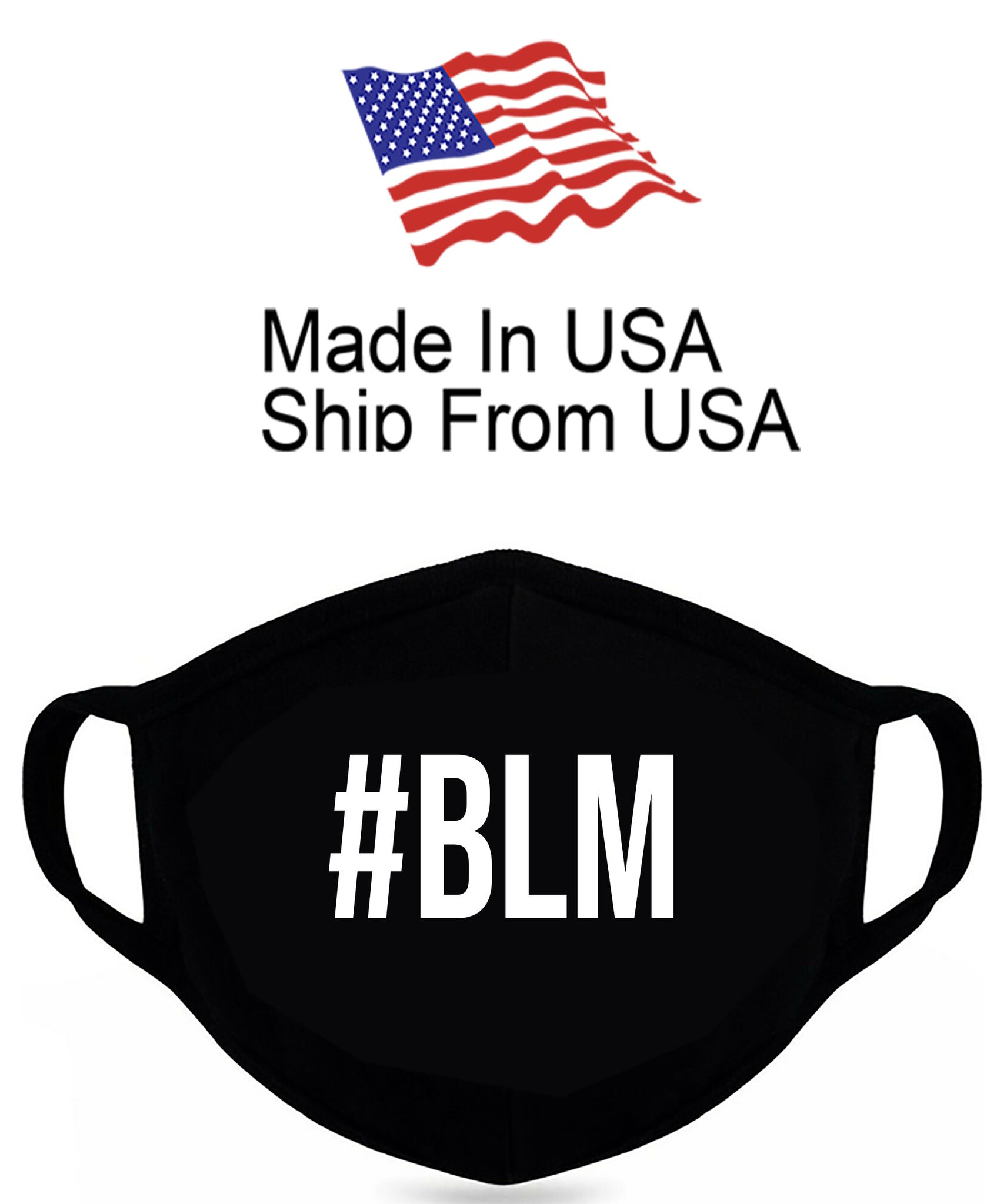 #BLM Cotton Face Mask
