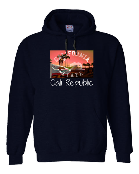 California Republic Fleece Hoodie