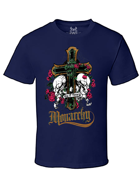 Monarchy Digital Print T-Shirt