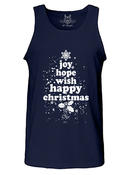 Christmas Joy Digital Print Tank Top