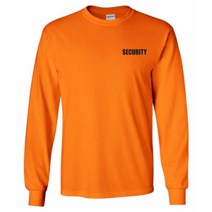 Security Uniform Neon Long Sleeve T-Shirt
