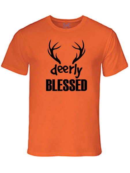"""Deerly"" Blessed Bro T-Shirt"