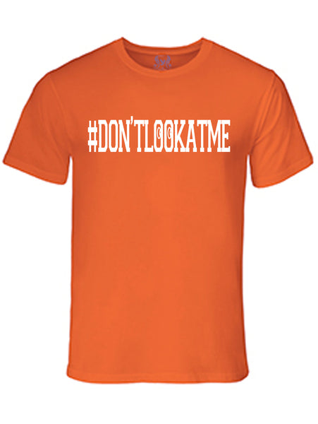 Don't Look At Me Graphic Print T-Shirt