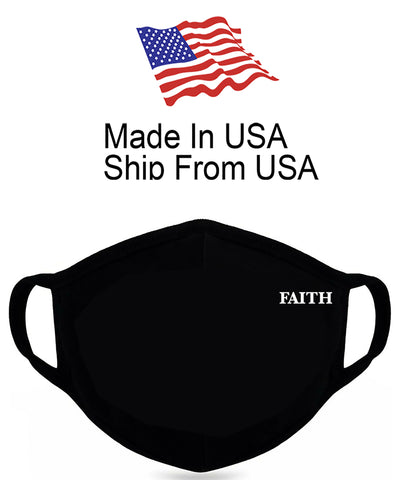 Christian Faith Cotton Face Mask