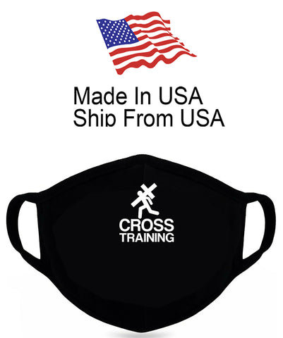 Cross Training Cotton Face Mask