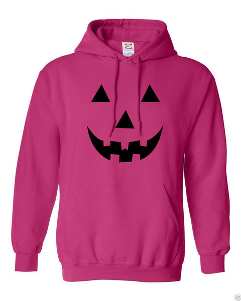 Simple Halloween Pumpkin Fleece Hoodie