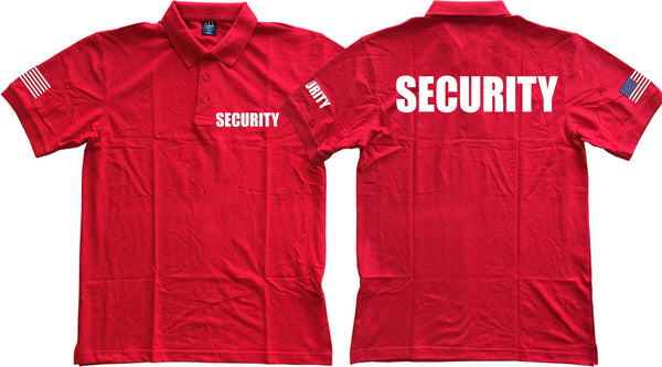 USA Security Uniform Polo T-Shirt