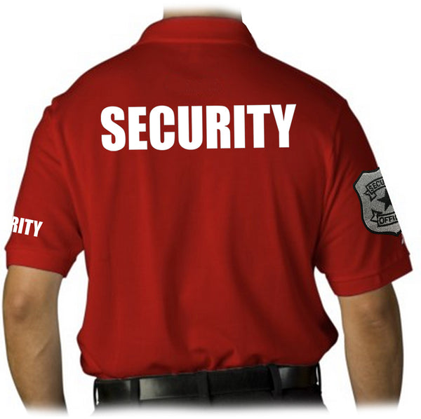 Security Badged Polo T-Shirt