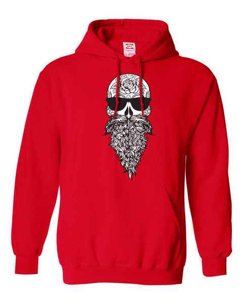 Bearded Skull Fleece Hoodie