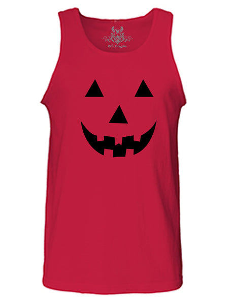 Simple Halloween Pumpkin Tank Top