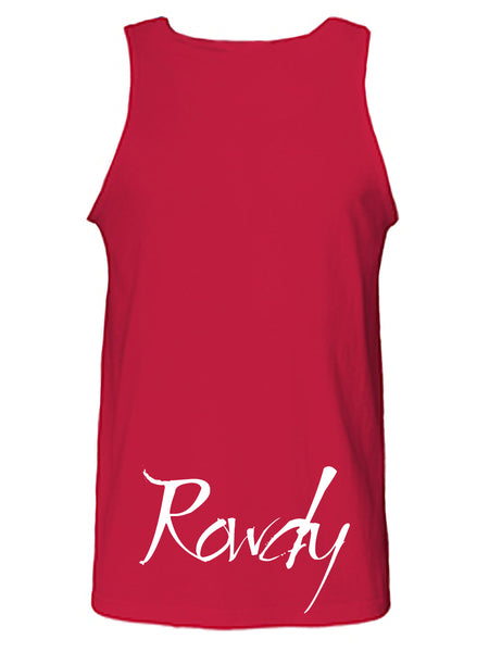 Rowdy Graphic Print Tank Top