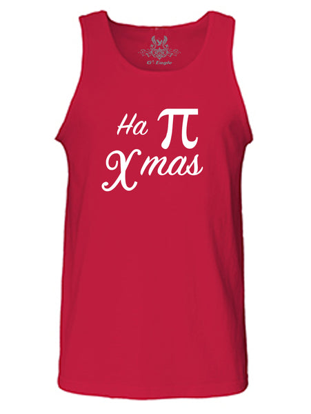 Ha-Pi Christmas Graphic Print Tank Top