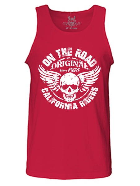 California Riders Graphic Print Tank Top