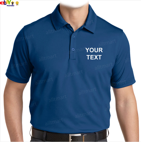 Customizable Plain Dri-Fit Polo T-Shirt