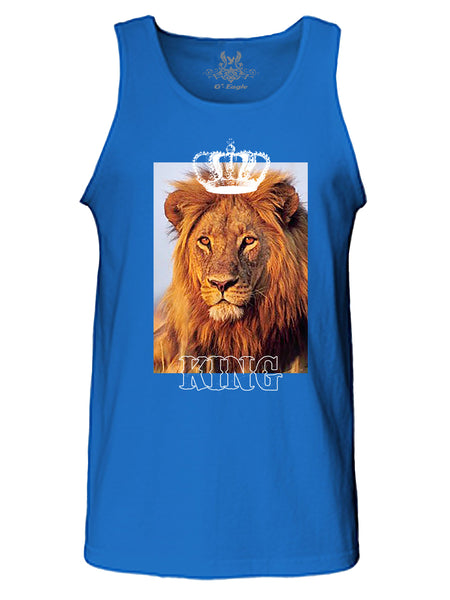 Lion King Digital Print Tank Top