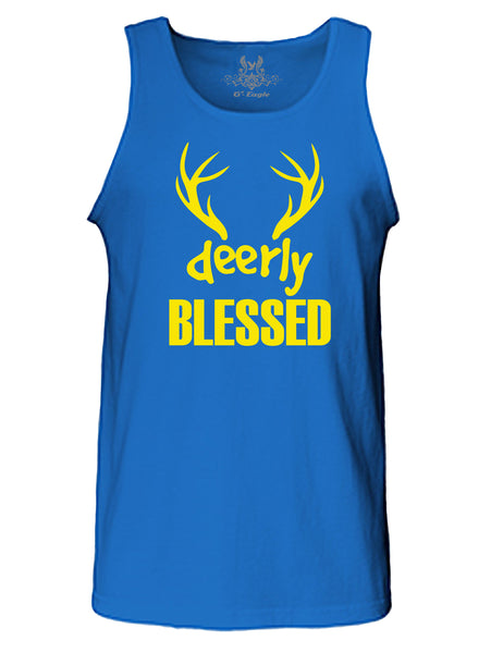 """Deerly"" Blessed Tank Top"