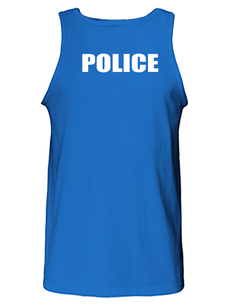 Police Uniform Tank Top