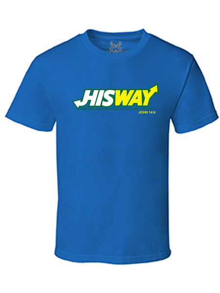 HisWay Digital Print T-Shirt