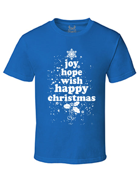 Christmas Joy Digital Print T-Shirt