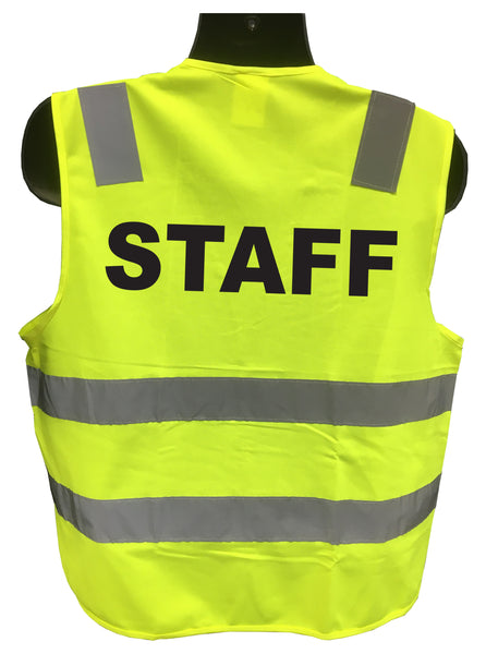 Reflective Staff Uniform Traffic Vest