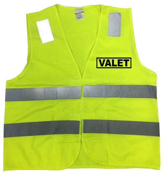 Reflective Valet Uniform Traffic Vest