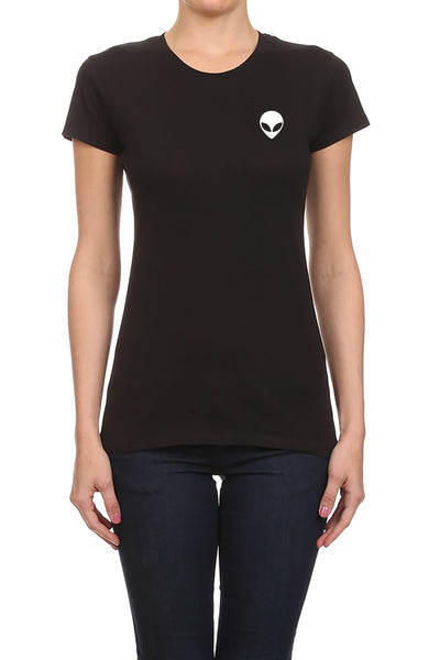 Simple Alien Women's T-Shirt