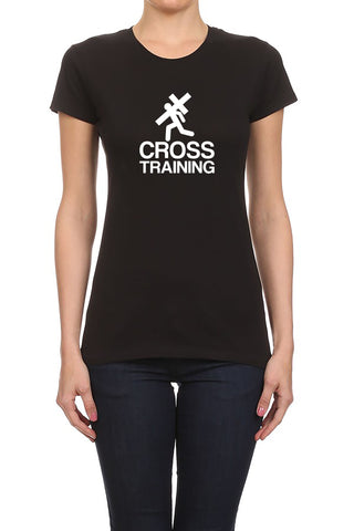 Cross Training Christian Women's T-Shirt