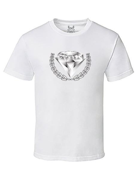 Diamond Digital Print T-Shirt