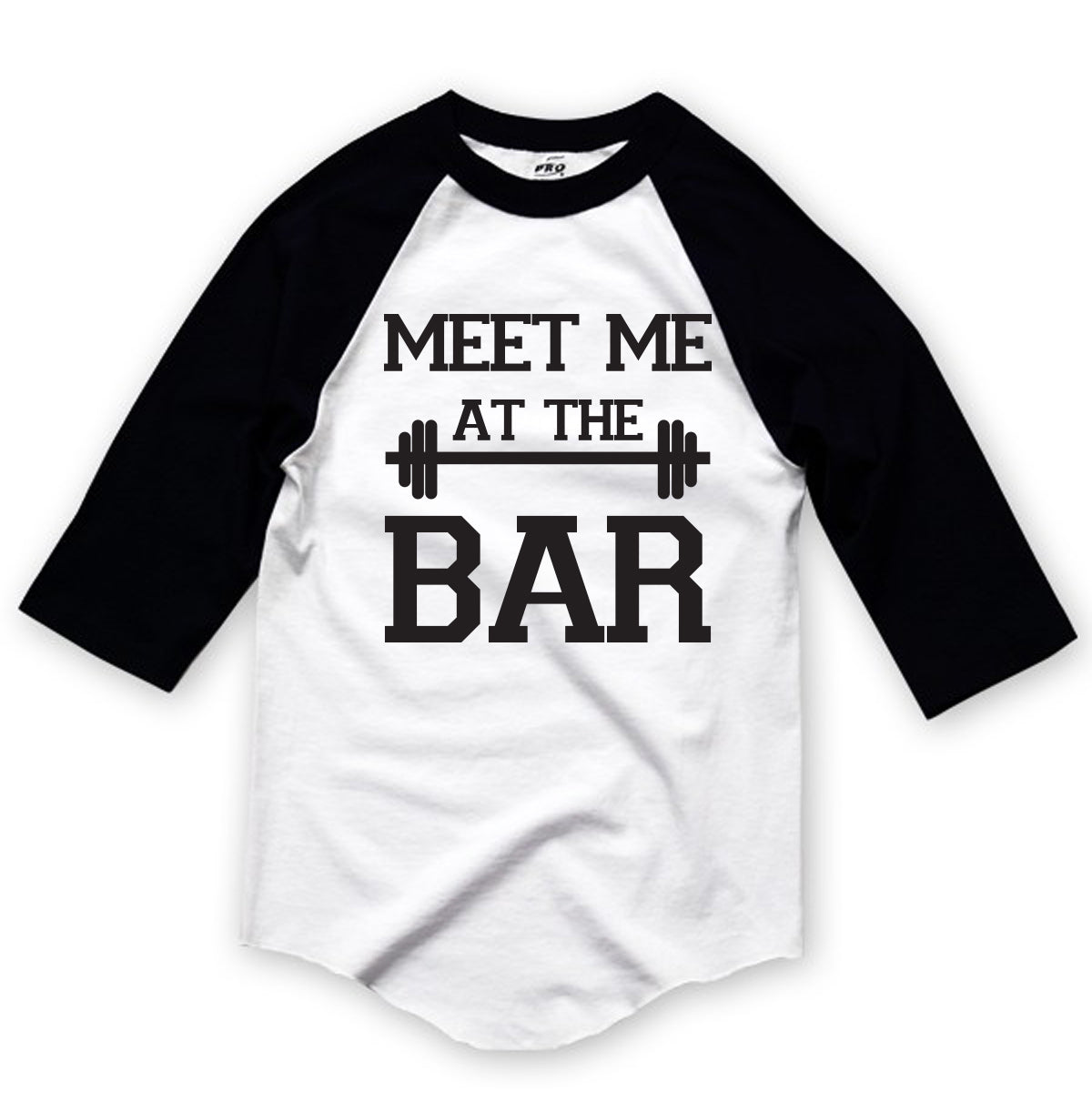 Meet Me At The Bar Graphic Baseball Tee
