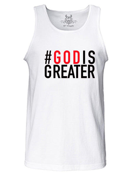God is Greater Tank Top