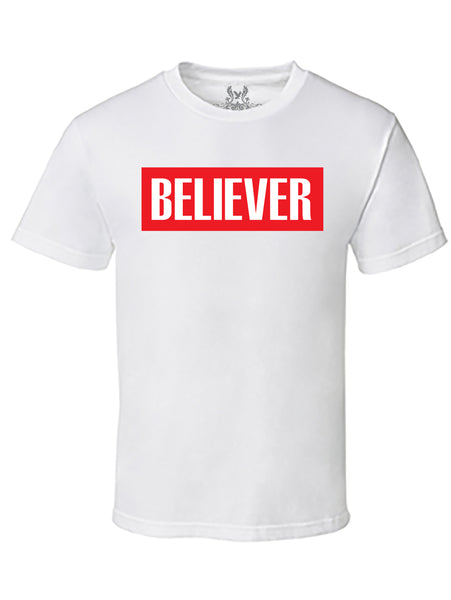 Believer Graphic Print T-Shirt