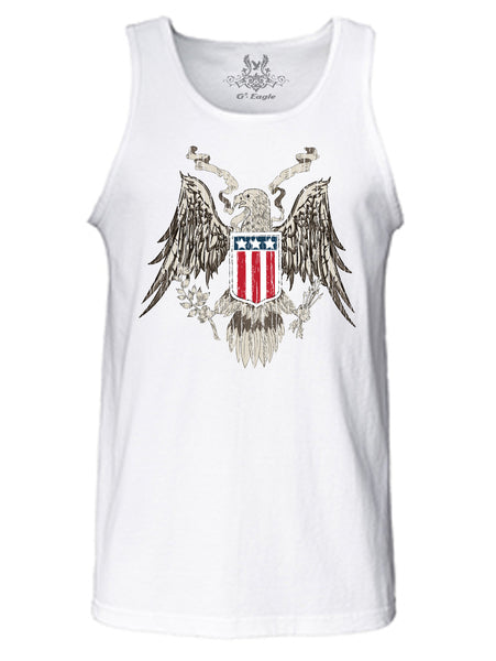 USA Pride Digital Print Tank Top