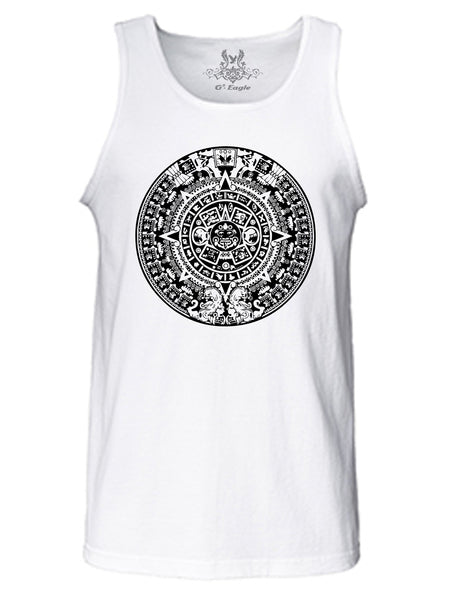 Tribal Design Graphic Print Tank Top