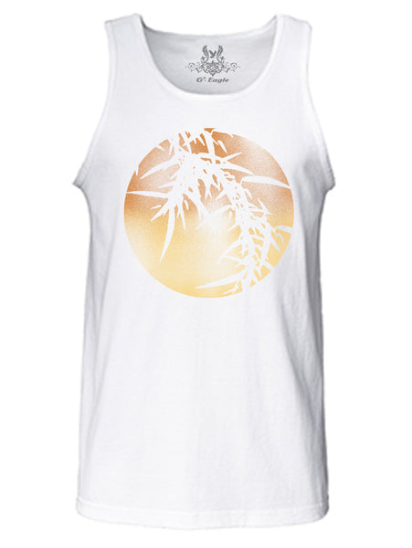 Moon Digital Print Tank Top