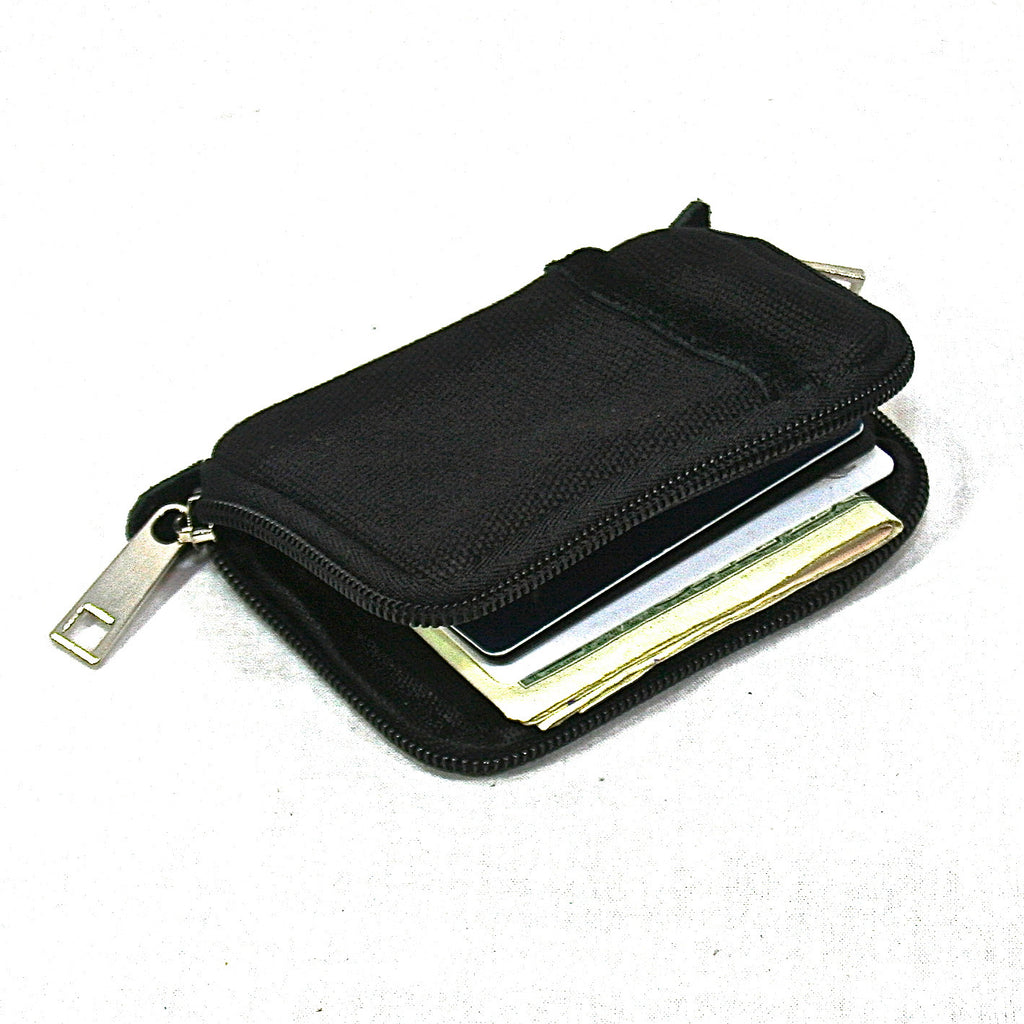 Canvas Commuter Wallet