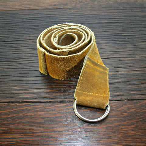 Upcycled Suede Belt