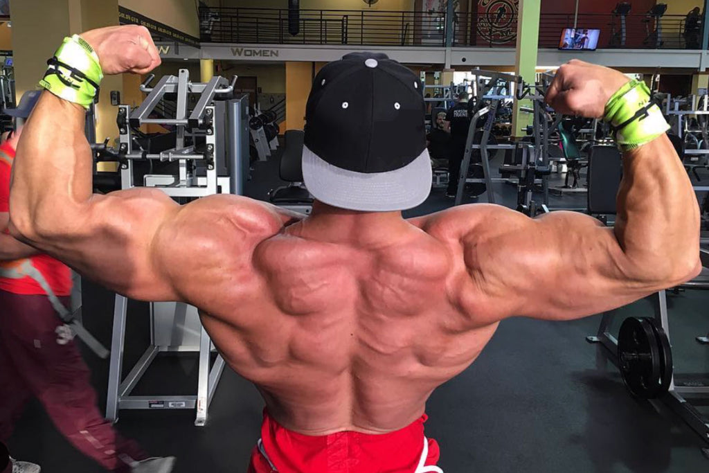 Insane Back Workout with LIV Body Athlete Jason Poston