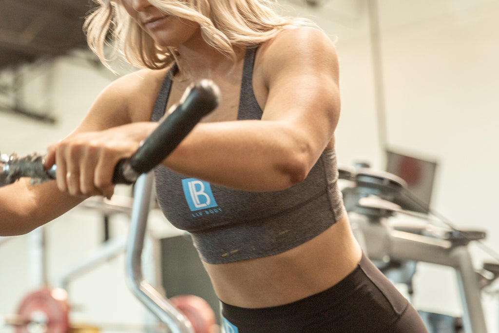 Back & Biceps with LIV Body Athlete Shannon Henry