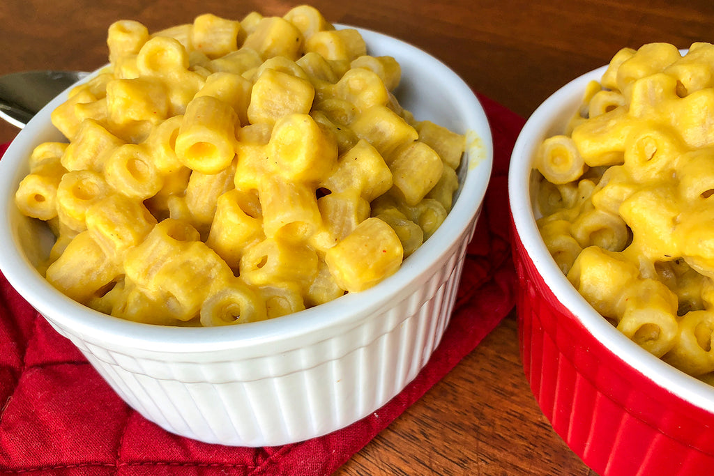 Vegan Butternut Macaroni Recipe - Kid Approved!