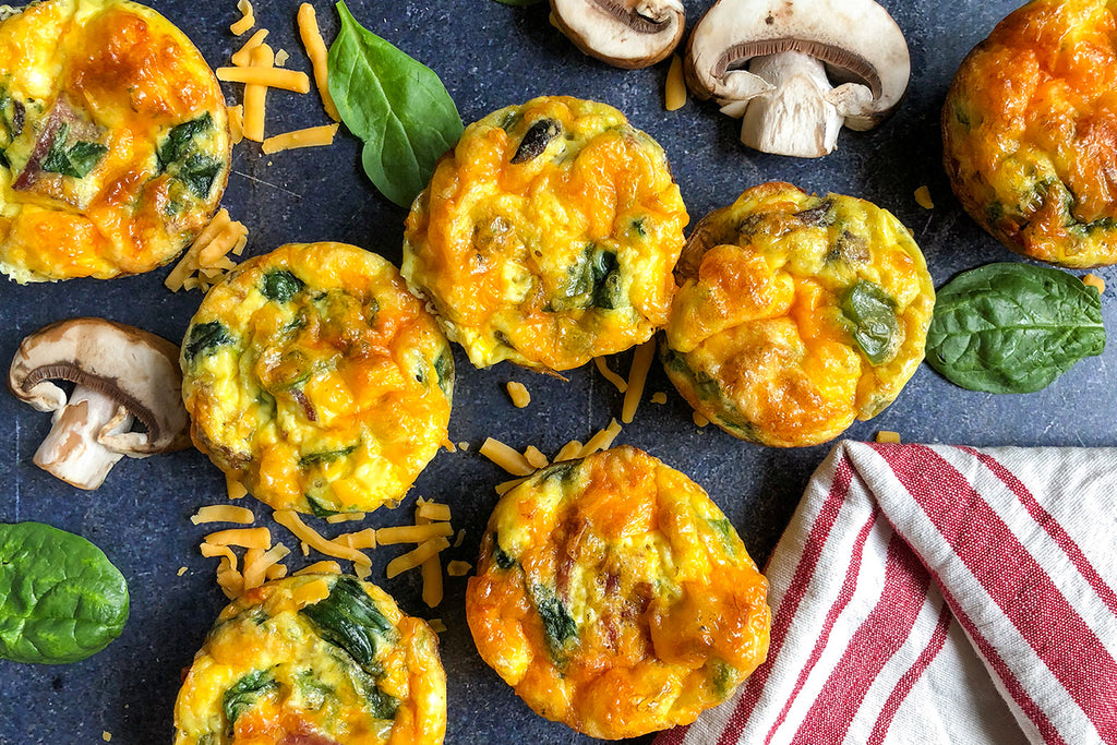 Bacon & Spinach Egg Muffins