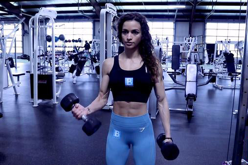 Upper Body Workout with LIV Body Athlete Natalie Matthews