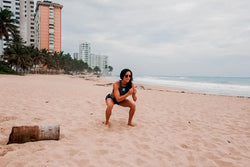 Beach Workout with LIV Body Athlete Natalie Matthews